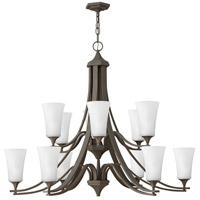 Hinkley 4639OZ-WH Brantley 12 Light 43 inch Oil Rubbed Bronze Foyer Chandelier Ceiling Light