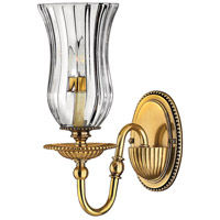 Hinkley 4640BB Cambridge 1 Light 5 inch Burnished Brass Sconce Wall Light