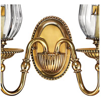 Hinkley 4642BB Cambridge 2 Light 14 inch Burnished Brass Sconce Wall Light alternative photo thumbnail