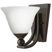 Hinkley 4650OB-OP-LED Bolla LED 8 inch Olde Bronze Sconce Wall Light in Etched Opal, Etched Opal Glass
