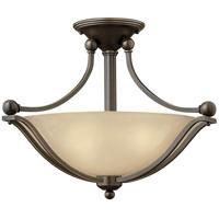 Hinkley 4651OB-LED Bolla LED 19 inch Olde Bronze Foyer Light Ceiling Light in Light Amber Seedy