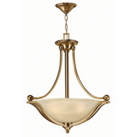 Bolla LED 23 inch Brushed Bronze Foyer Ceiling Light in Light Amber Seedy
