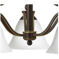Hinkley 4653OB-OPAL Bolla 3 Light 23 inch Olde Bronze Chandelier Ceiling Light in Etched Opal alternative photo thumbnail