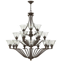 Bolla 18 Light 48 inch Olde Bronze Foyer Chandelier Ceiling Light in Clear Seedy