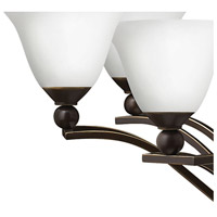 Hinkley 4659OB-OPAL Bolla 18 Light 48 inch Olde Bronze Foyer Chandelier Ceiling Light in Etched Opal alternative photo thumbnail