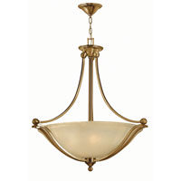 Hinkley 4664BR-LED Bolla LED 31 inch Brushed Bronze Foyer Ceiling Light in Light Amber Seedy