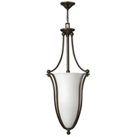 Hinkley 4665OB-OPAL Bolla 6 Light 18 inch Olde Bronze Inverted Pendant Ceiling Light in Etched Opal