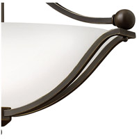 Hinkley 4669OB-OPAL Bolla 3 Light 23 inch Olde Bronze Foyer Semi-Flush Mount Ceiling Light in Etched Opal, Incandescent alternative photo thumbnail
