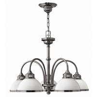 Hinkley Carina 5Lt Chandelier in Polished Antique Nickel 4675PL photo thumbnail
