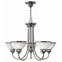 Hinkley Carina 5Lt Chandelier in Polished Antique Nickel 4676PL