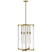 Hinkley 4685LCB Kellen 4 Light 20 inch Lacquered Brass Chandelier Ceiling Light
