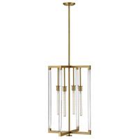 Hinkley 4685LCB Kellen 4 Light 20 inch Lacquered Brass Chandelier Ceiling Light