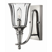 Hinkley Lighting Chandon 1 Light Sconce in Sterling 4690SR photo thumbnail