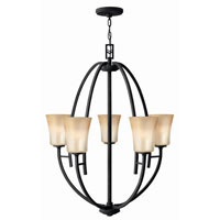 Hinkley Lighting Valley 5 Light Chandelier in Vintage Black 4705VK photo thumbnail
