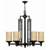 Hinkley Tahoe 6Lt Chandelier in Regency Bronze 4716RB photo thumbnail