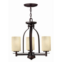 Hinkley Lighting Stowe 3 Light Chandelier in Metro Copper 4722MC