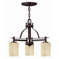Hinkley Lighting Stowe 3 Light Chandelier in Metro Copper 4723MC photo thumbnail