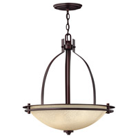 Hinkley 4724MC Stowe 3 Light 22 inch Metro Copper Hanging Foyer Ceiling Light