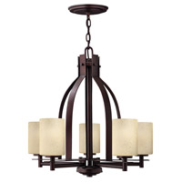 Stowe 5 Light 23 inch Metro Copper Chandelier Ceiling Light