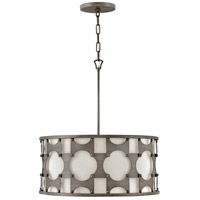 Hinkley 4735WBZ Carter 5 Light 21 inch Weathered Bronze Chandelier Ceiling Light