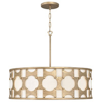 Hinkley 4736BNG Carter 6 Light 29 inch Burnished Gold Chandelier Ceiling Light