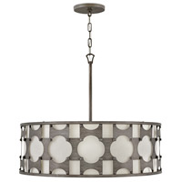 Hinkley 4736WBZ Carter 6 Light 29 inch Weathered Bronze Chandelier Ceiling Light