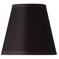 Hinkley Lighting Ascher Shade in Brushed Caramel with Black Silk Gold Lined Shade 4750SH