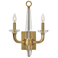 Hinkley Lighting Ascher 2 Light Sconce in Brushed Caramel 4752BC