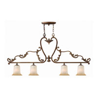 Hinkley Maribella Island 4Lt Chandelier in Royal Bronze 4764RY photo thumbnail