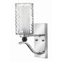 Hinkley Lighting Tides 1 Light Sconce in Chrome 4780CM photo thumbnail