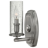Hinkley Lighting Dakota 1 Light Sconce in Polished Antique Nickel 4780PL