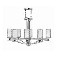Hinkley Lighting Tides 8 Light Chandelier in Chrome 4784CM photo thumbnail