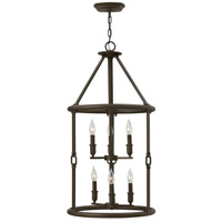Hinkley Lighting Dakota 6 Light Foyer in Oil Rubbed Bronze 4784OZ