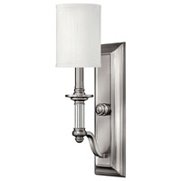 Hinkley Lighting Sussex 1 Light Sconce in Brushed Nickel 4790BN