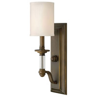 Hinkley Lighting Sussex 1 Light Sconce in English Bronze 4790EZ