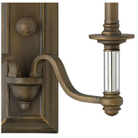 Hinkley 4792EZ Sussex 2 Light 16 inch English Bronze Sconce Wall Light alternative photo thumbnail