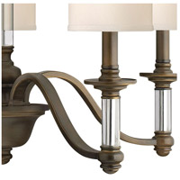 Hinkley 4795EZ Sussex 5 Light 26 inch English Bronze Chandelier Ceiling Light alternative photo thumbnail