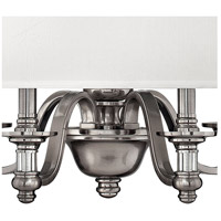 Hinkley 4797BN Sussex 4 Light 23 inch Brushed Nickel Inverted Pendant Ceiling Light alternative photo thumbnail