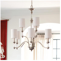 Hinkley 4798BN Sussex 9 Light 32 inch Brushed Nickel Foyer Chandelier Ceiling Light alternative photo thumbnail