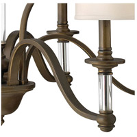 Hinkley 4798EZ Sussex 9 Light 32 inch English Bronze Foyer Chandelier Ceiling Light, 2 Tier alternative photo thumbnail