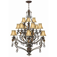 Hinkley Lighting Veranda 15 Light Chandelier in Summerstone 4807SU photo thumbnail
