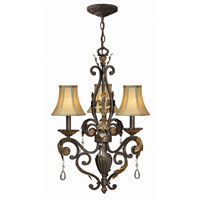 Hinkley Lighting Veranda 3 Light Chandelier in Summerstone 4808SU photo thumbnail