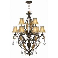 Hinkley Lighting Veranda 9 Light Chandelier in Summerstone 4809SU photo thumbnail