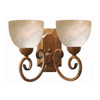 Hinkley Canyon Ridge 2Lt Sconce in Antique Gold 4812AD