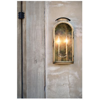 Hinkley 2524LS Rowley 2 Light 18 inch Light Antique Brass Outdoor Wall Mount alternative photo thumbnail