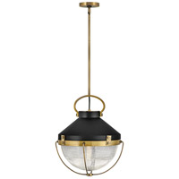 Hinkley 4844HB Crew 1 Light 16 inch Heritage Brass Chandelier Ceiling Light