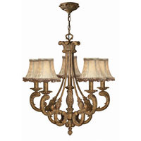 Hinkley Provence 5Lt Chandelier in French Gold 4845FG photo thumbnail
