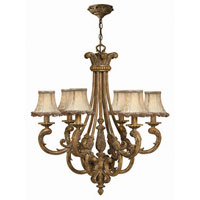 Hinkley Provence 6Lt Chandelier in French Gold 4846FG photo thumbnail