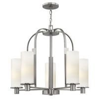 Hinkley Lighting Piper 5 Light Chandelier in Brushed Nickel 4865BN