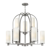 Hinkley Lighting Piper 9 Light Chandelier in Brushed Nickel 4868BN photo thumbnail